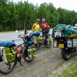 Doris and Klaus Hoehle from Bavaria, cycling across Siberia